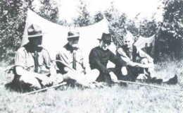 De Paulusgroep op kamp in het Gerendal in 1936
