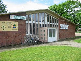 voorzijde scoutinggebouw