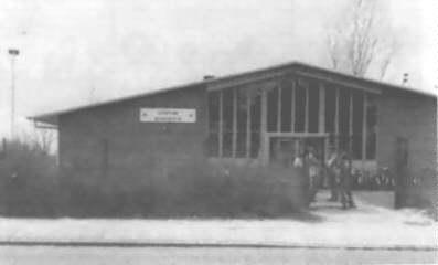 Scoutinggebouw Bekkerveld in '85