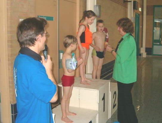 Zwemwedstrijden 2005