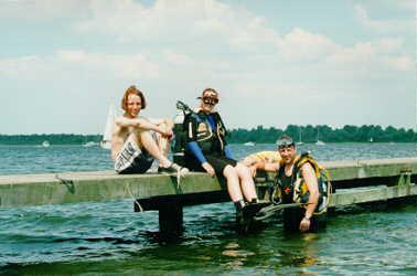 dan de sprong in het diepe: duiken in het veerse meer