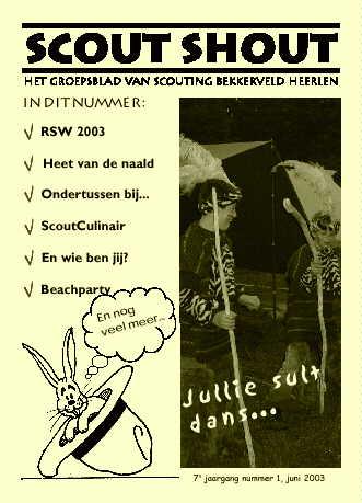 Scout-Shout juni 2003