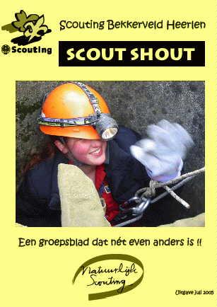 Scout-Shout juli 2005