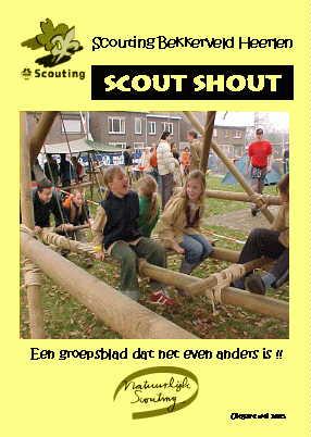 Scout-Shout mei 2005