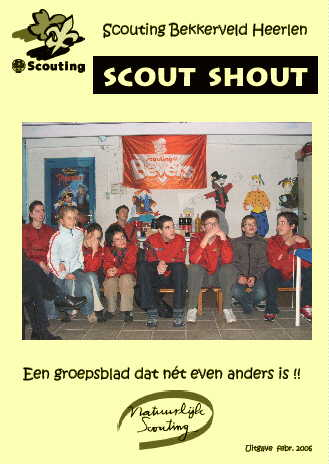 Scout-Shout - de laatste uitgave